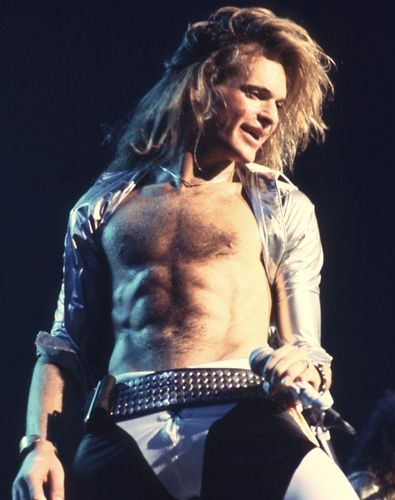 David Lee Roth - funny and strangely sexy dude