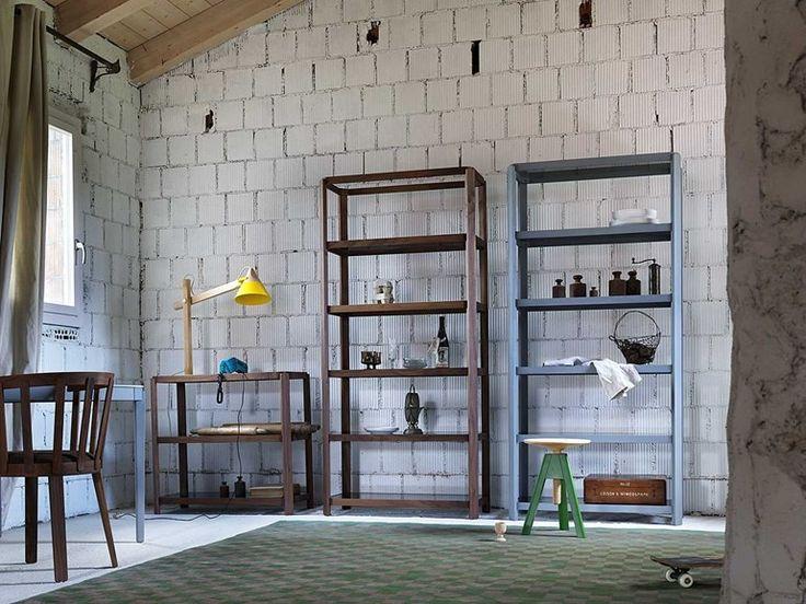 pina Bookcase - Miniforms #bookshelves