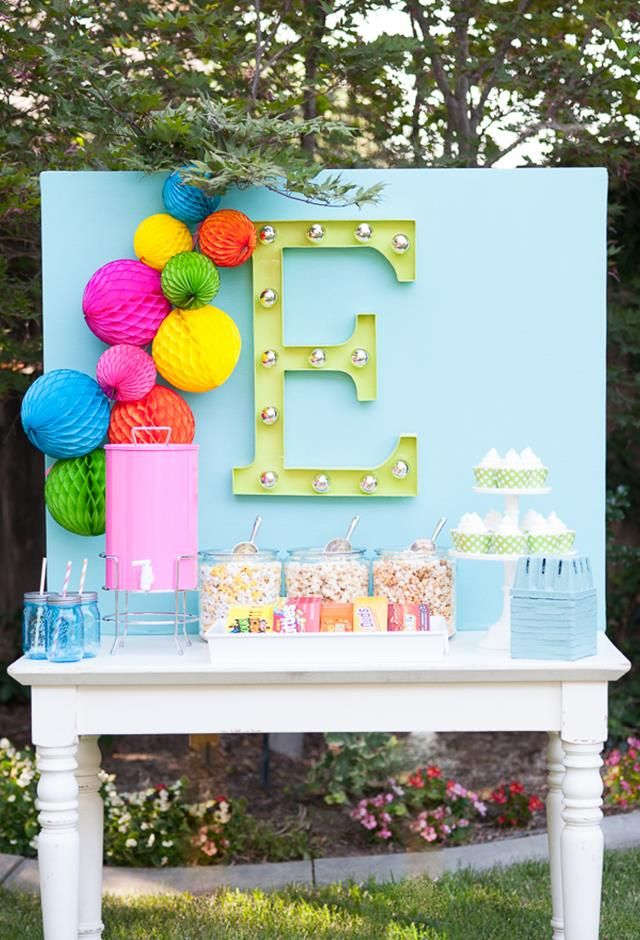 Add A Splash Of Color To Your Next Birthday Party With These Cute Decorating  Ideas.
