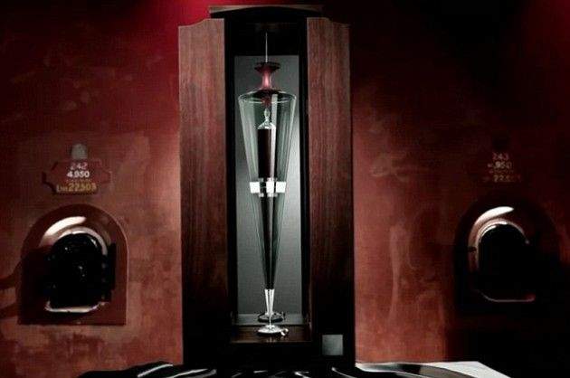 Penfolds Ampoule is currently the #most expensive red wine on the market. It was once sold at an auction for a #record $230,000. The Penfolds Block 42 #Kalimna #Cabernet Sauvignon comes in a #hand-blown #glass ampoule and 3only 12 of these have been #produced in the world. #exclusive wines #limited editions wines #most expensive wines #luxury wines #rare wines #luxury lifestyle