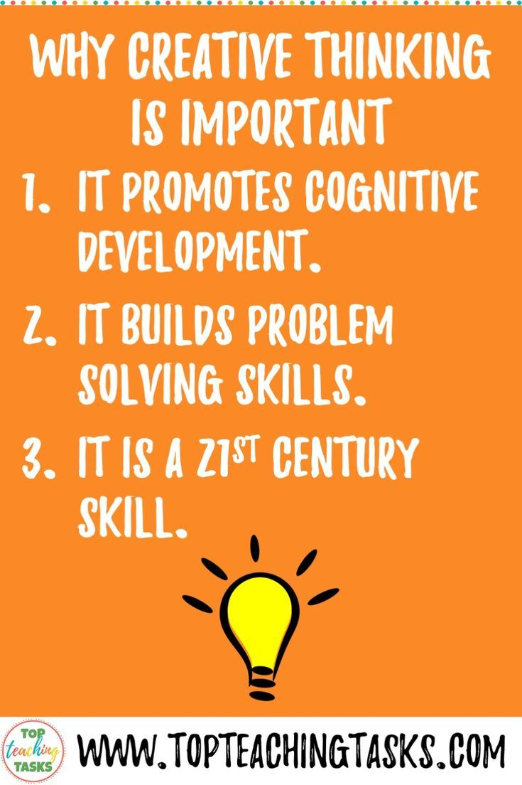 Using Creative Thinking Activities With Students Is A Great Way To Encoura Creative Thinking Activities Problem Solving Activities Higher Order Thinking Skills