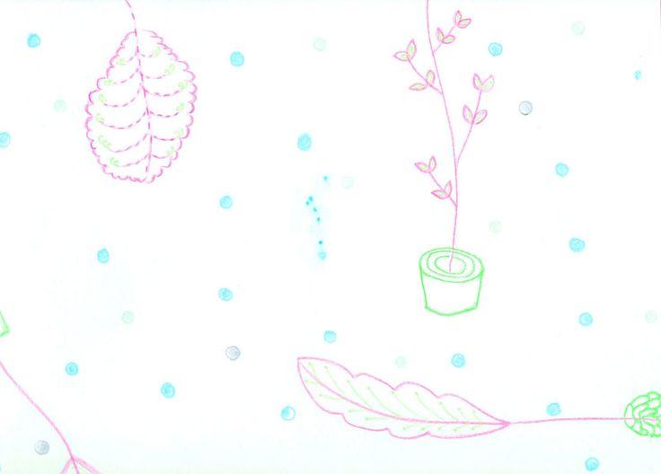 冬の葉っぱ