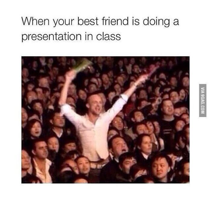 Yes !!!!! And everyone in class looks at u like ur crazy                                                                                                                                                      More