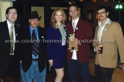 Anchorman group costumes. Funny and doable diy costumes.