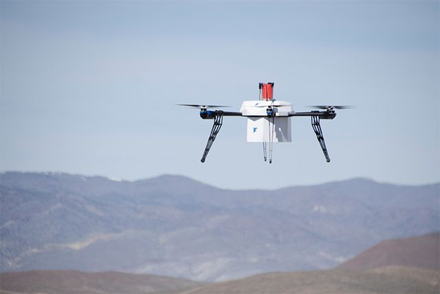 "#Flirtey #delivers_drugs by drone from #ship A Reno, Nevada-based startup called Flirtey Inc. directed the principal residential ""boat to shore"" ramble conveyance this week along the New Jersey coastline. The organization's restrictive automaton is a six-rotor framework developed from carbon fiber, aluminum and 3-d printed parts. http://bit.ly/28Ua2Qi"