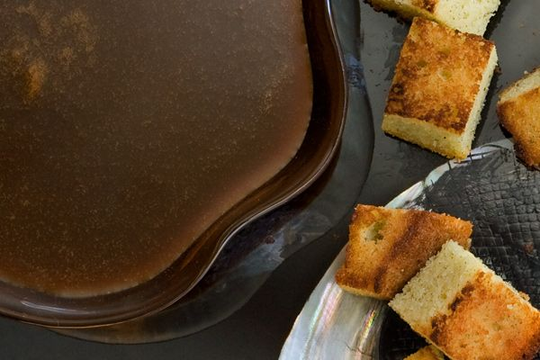 Coffee Sauce - This sweet, gooey sauce is packed with coffee flavor that's delicious paired with pound cake or ice cream.