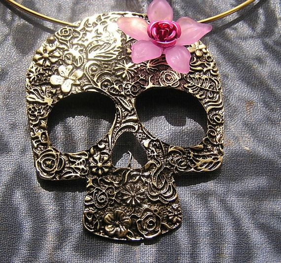 192 best day of the dead images by r mbr on for Day of the dead body jewelry