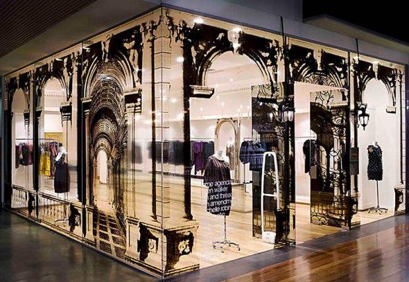 Like the storefront design