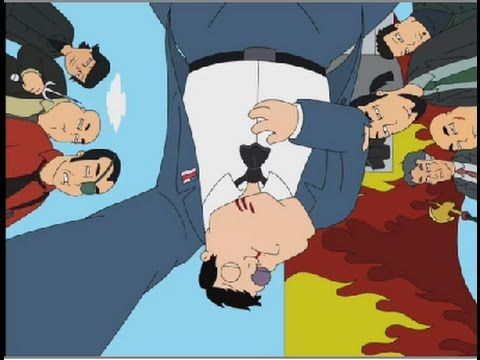 American Dad! Stan Fights Chinese Mafia