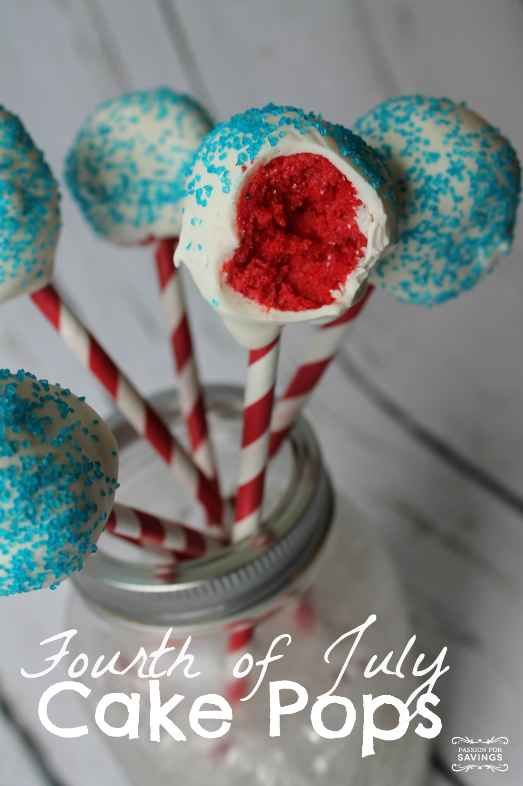 Fourth of July Cake Pops Recipes.