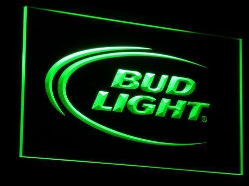 Bud Light Beer Bar LED Neon Sign Man Cave A003-Sign Light Neon Bar Beer Pub