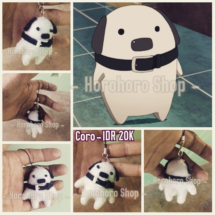 "Handmade accessories~coro ""akame ga kill""~IDR 20K"