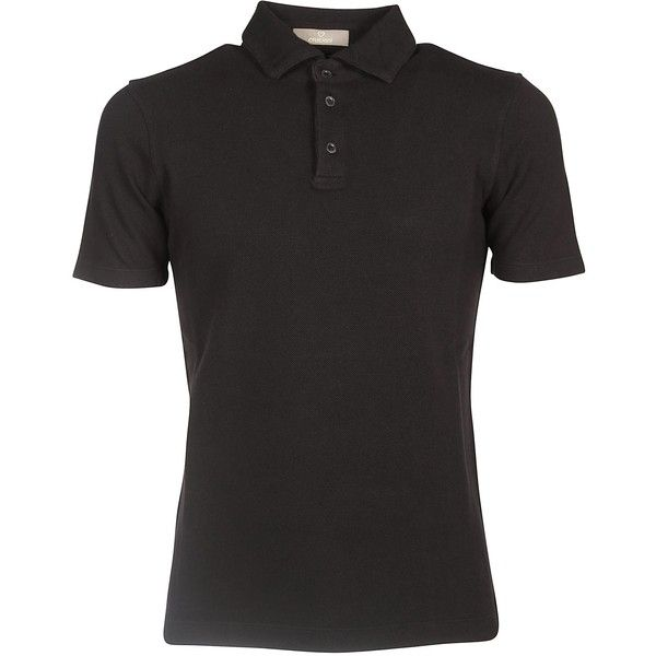 Cruciani Cotton Polo Shirt ($130) ❤ liked on Polyvore featuring men's fashion, men's clothing, men's shirts, men's polos, black, mens polo shirts, mens short sleeve cotton shirts, mens slim fit shirts, mens slim shirts and mens slim fit short sleeve shirts