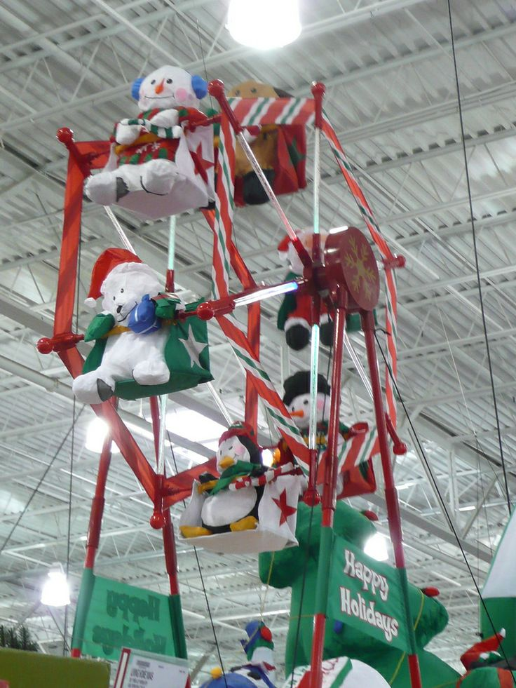 Inflatable Christmas Decoration Spotted in BJ's in North Haven
