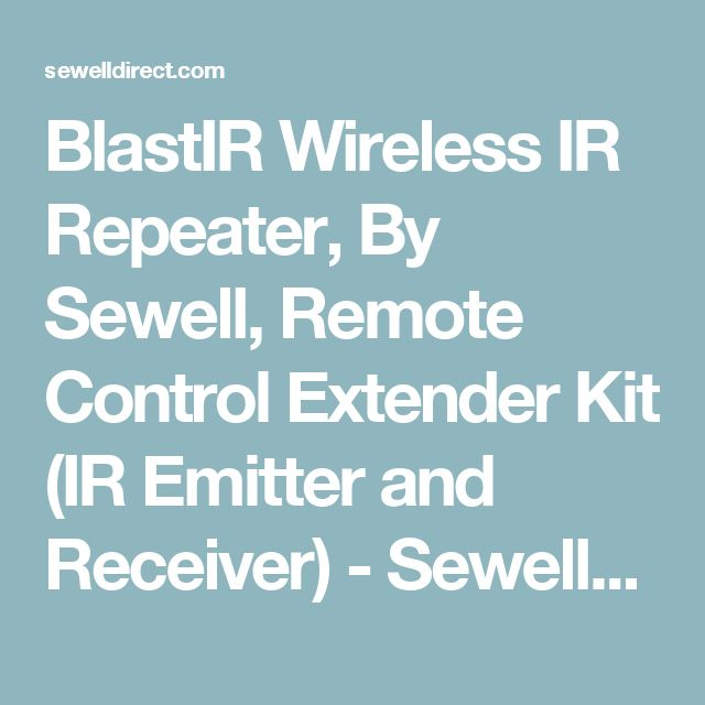 blastir wireless ir repeater by sewell remote control extender kit ir emitter and receiver