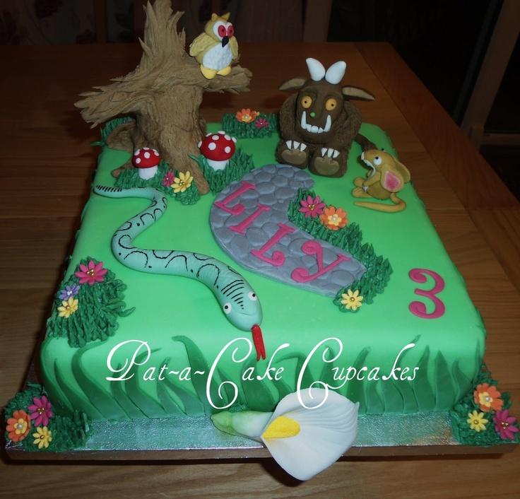 2nd Gruffalo cake made by myself  https://www.facebook.com/PataCakeCupcakes.Preston