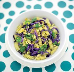 Fusilli di mais con cavolo cappuccio, spinaci e pistacchi - Tutte le ricette dalla A alla Z - Cucina Naturale - Ricette, Menu, Diete