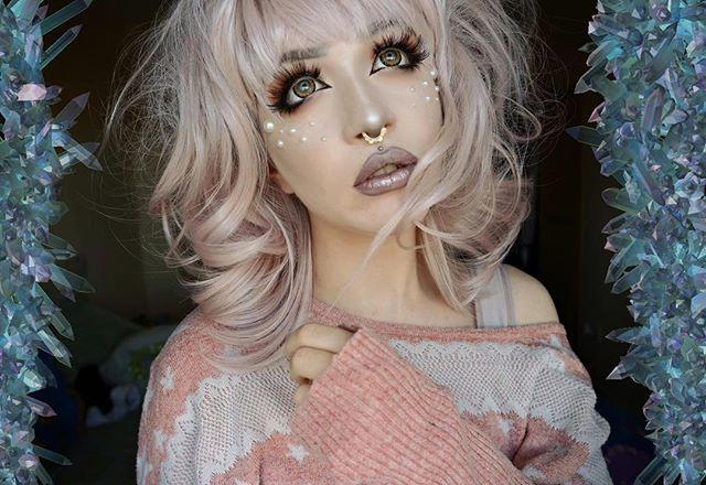 step by step geisha makeup application