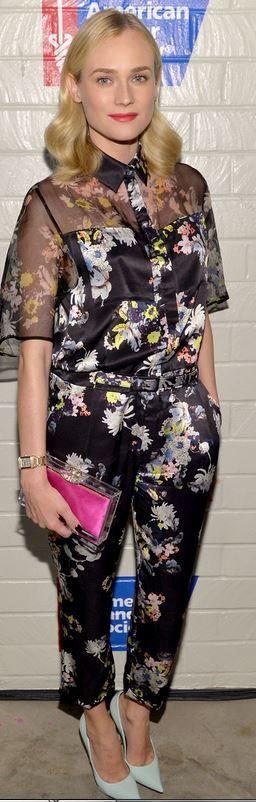 The 72 best jumpsuits is love images on pinterest woman fashion black floral jumpsuit fandeluxe Images