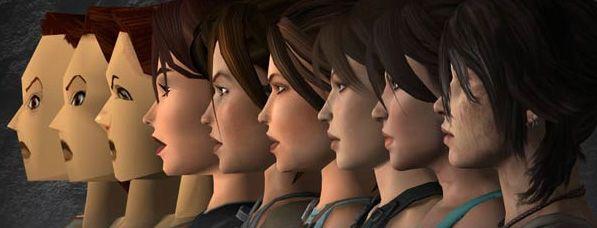 A evolução de Lara Croft