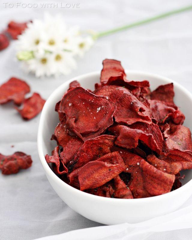 Beet Chips | Yummy Treats | Pinterest