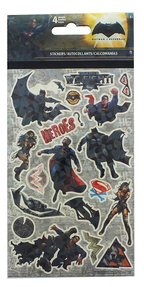 Batman vs. Superman Stickers