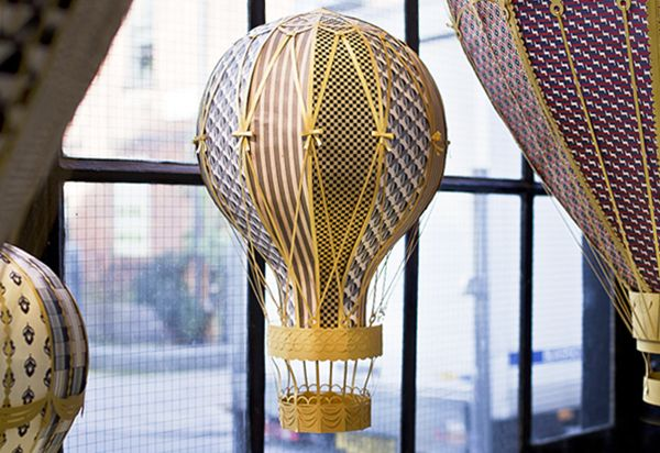 YCN Balloon Window by The Makerie Studio , via Behance