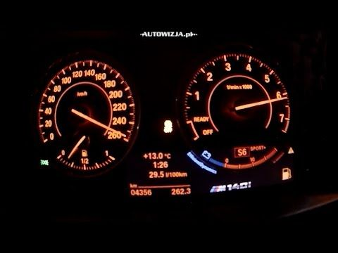 Bmw M140i Xdrive Acceleration 0 100 Km H And Top Speed Car