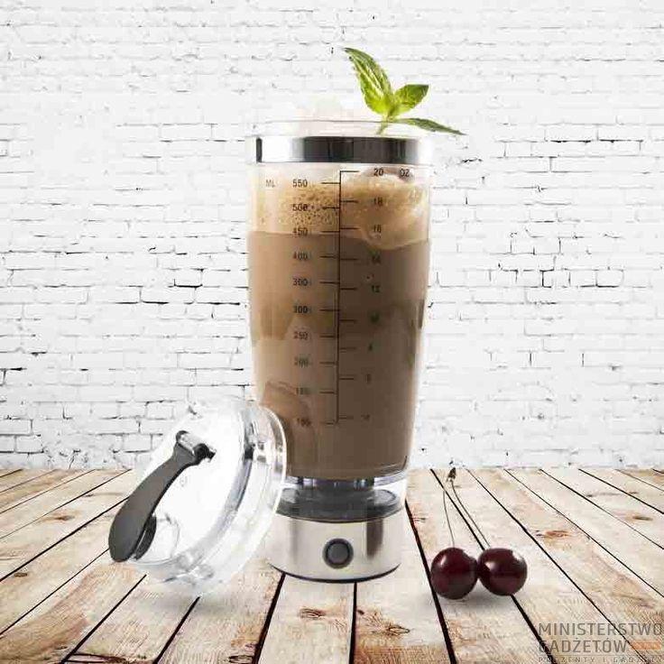 Kubek Powermixer. W mgnieniu oka przygotujesz zdrowy koktajl, drinka na imprezę i odżywkę na siłownię :)