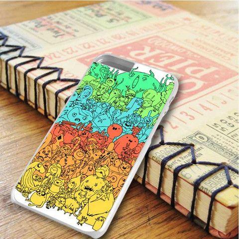 Adventure Time Color Rainbow iPhone 6 Plus iPhone 6S Plus Case