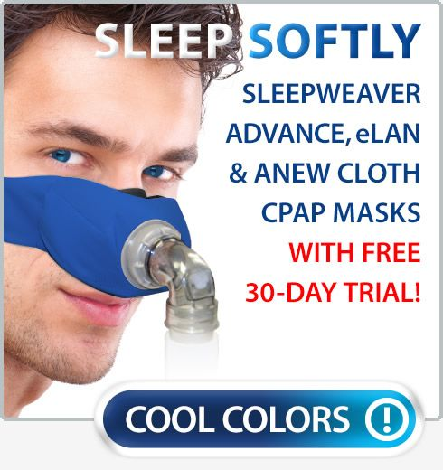 CPAP & BIPAP MASKS BY CIRCADIANCE Circadiance's high-performance SleepWeaver CPAP Masks give people the freedom to sleep and breathe in comfort -- with soft cloth instead of plastic or silicone on their face! SleepWeaver masks have revolutionized sleep therapy for thousands of patients so try a SleepWeaver today! http://www.directhomemedical.com/manufacturers-circadiance-cpap-masks.html#.V0iA2FfTy-I