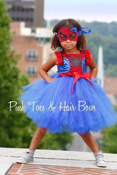 Spider girl costume spider girl tutu costume by GlitterMeBaby