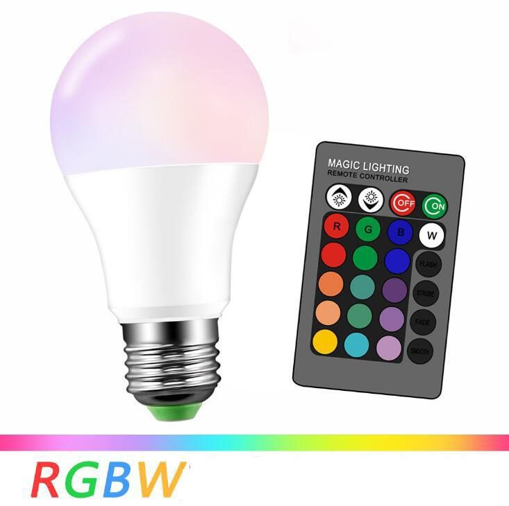 Find More Led Bulbs Tubes Information About E27 Rgb Led Bulb With Ir 24keys Remote Control Changeable Colorful Lamp 3w 5w 10w Led Bulb Colorful Lamps Rgb Led