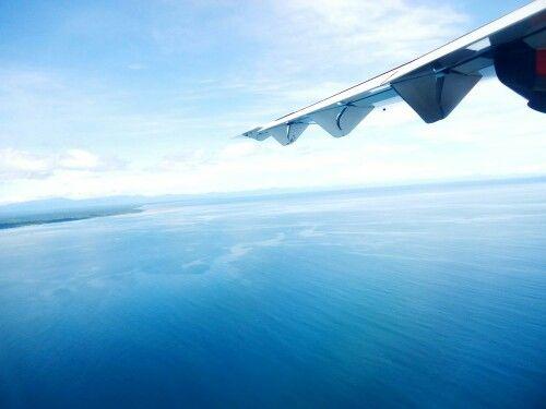 Blue sea #above papua
