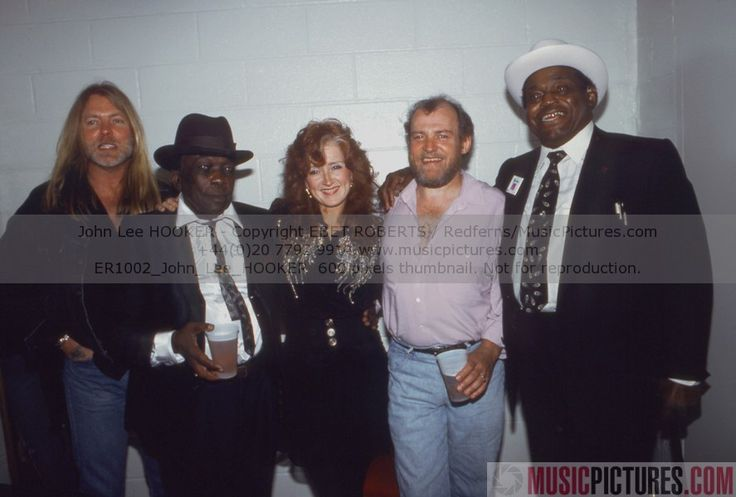 GA, John Lee Hooker, Bonnie Raitt, Joe Cocker(?), & Willie Dixon.