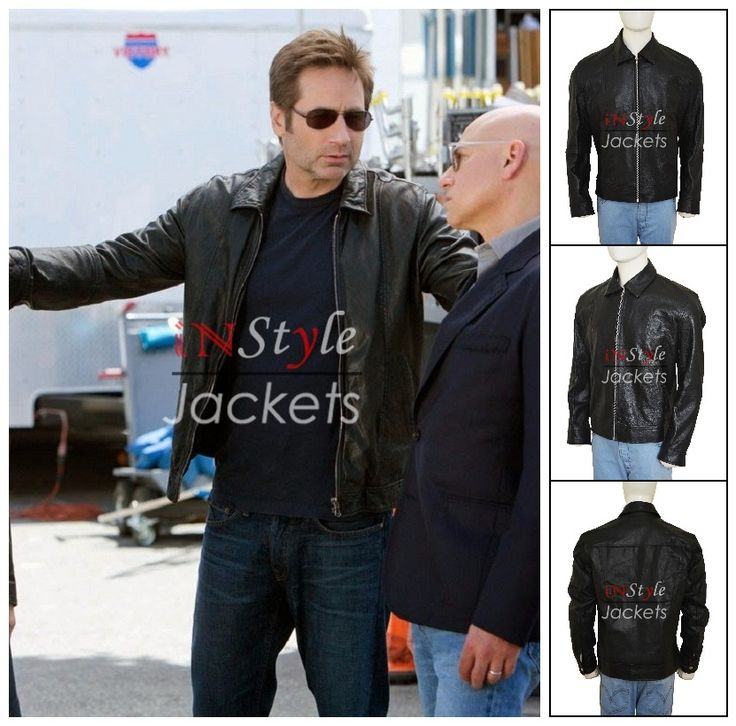 Get The Californication TV Series Hank Moody Leather Jacket Here