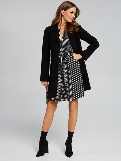 Chloe Single Button Coat