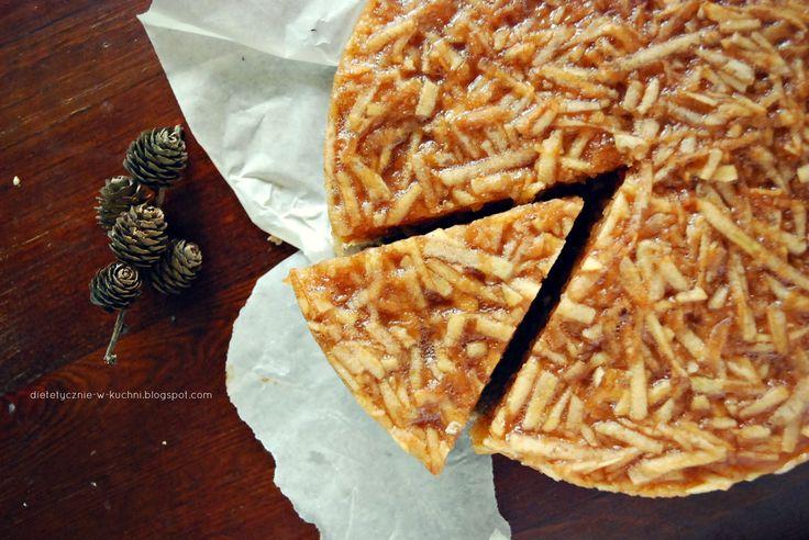 Moje Dietetyczne Fanaberie: Jabłecznik bez mąki