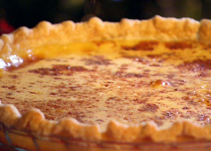 Eggnog Custard Pie. Hope it's like the one my M-n-law makes.