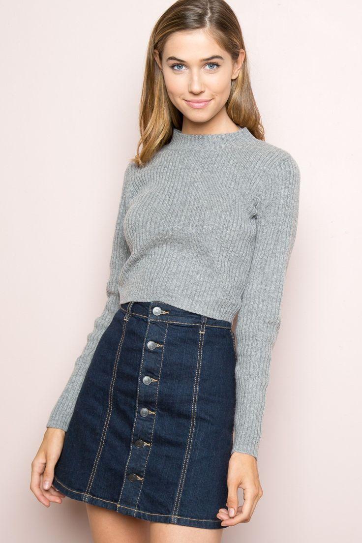 Brandy ♥ Melville    Brett Turtleneck Sweater - Clothing
