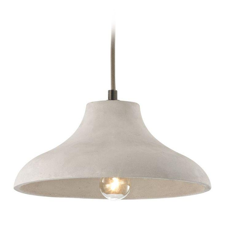 Elk Lighting Elk Lighting Urban Form Black Nickel Pendant Light with Bowl / Dome Shade 45333/1