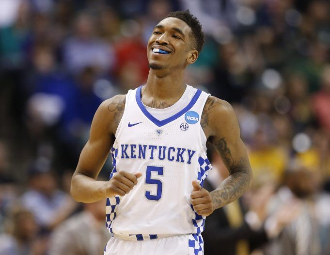 New York Knicks Select Malik Monk In Chad Ford's Latest Mock Draft