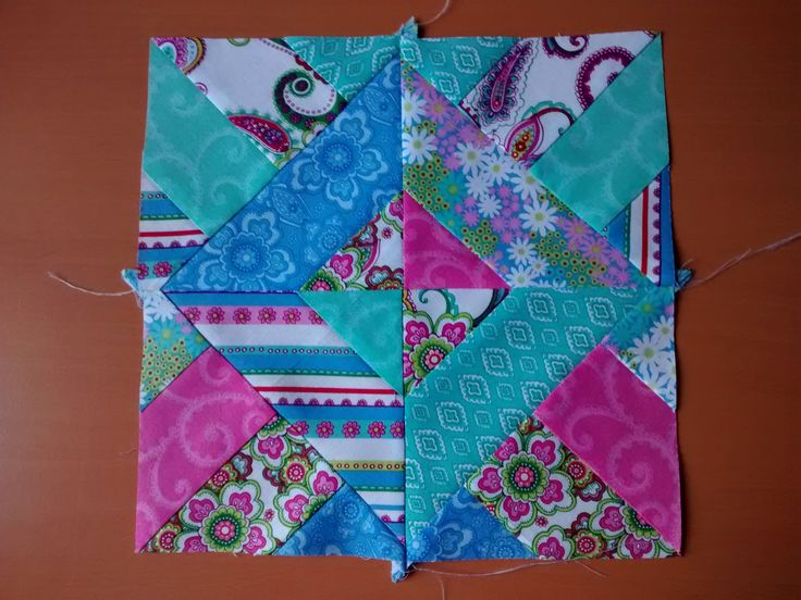 the block of spring quilt