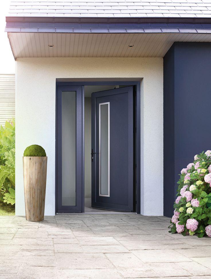 Porte entrée PVC SWAO, modèle Elme