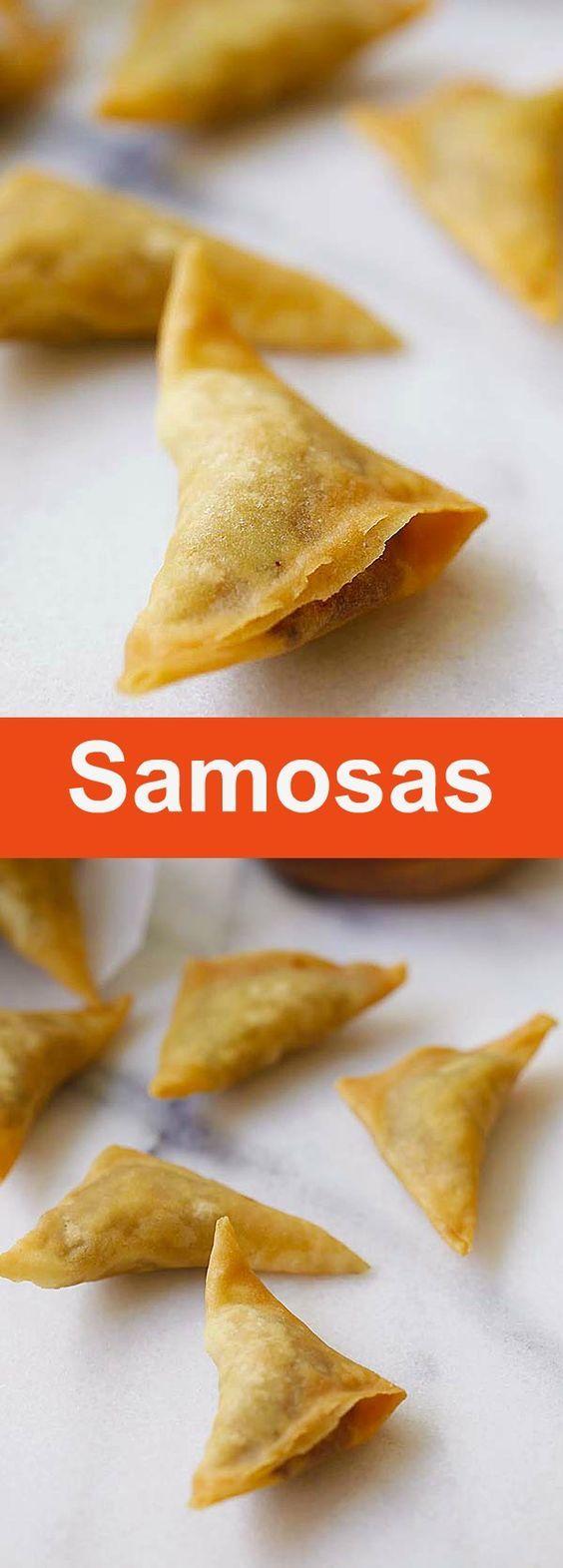 Easy Samosa – Samosa is an Indian deep-fried appetizer filled with spiced potatoes. Fail-proof samosa recipe, so good   rasamalaysia.com