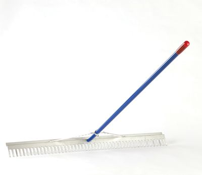 The Drainage Products Store - Wolverine 48� Wide Aluminum Landscape Rake, $51.50 (http://stores.drainageproducts.us/wolverine-48-wide-aluminum-landscape-rake/)