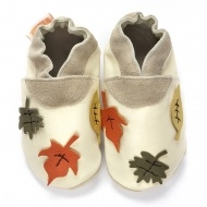 Chute des Feuilles - soft leather shoes for newborn - toddlers