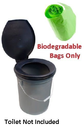 Portable Camping Festival Toilet Composting Biodegradable Bags for Need A Loo  | eBay