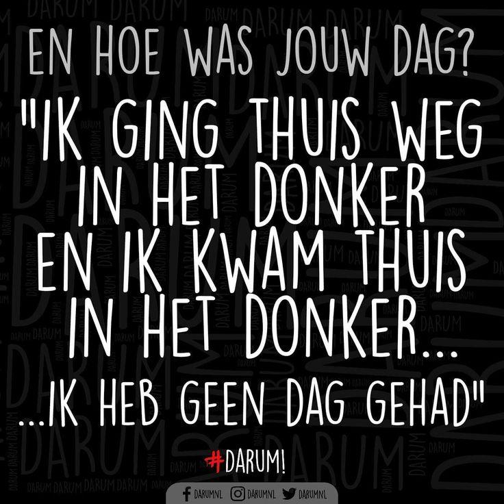 #donkere #dagen