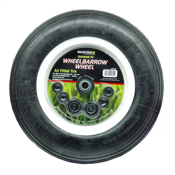Maxpower Universal Wheelbarrow Wheel - 1352-0036